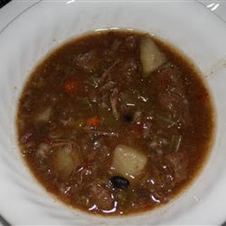Jack's Old-Fashioned Beef and Vegetable Soup.