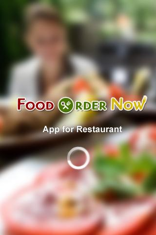 Food Order Now Restaurant App