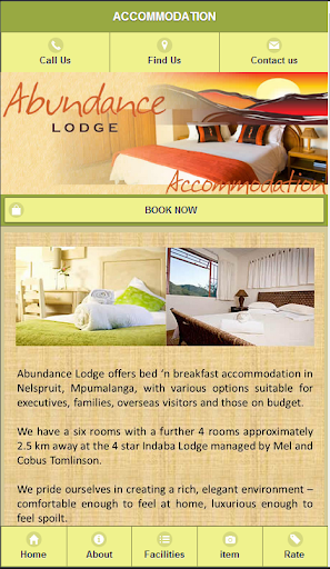 Abundance Lodge Nelspruit