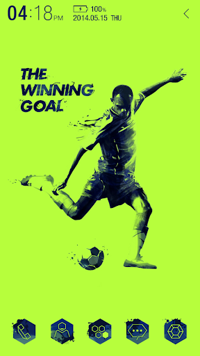 The Winning goal Atom Theme