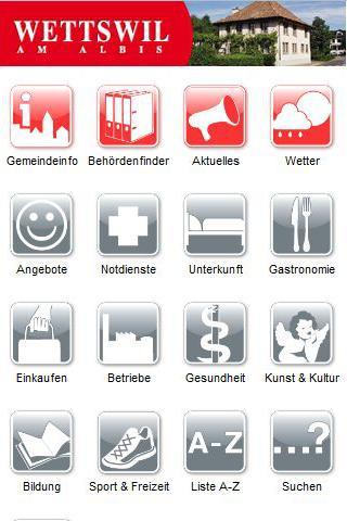 Cityguide Wettswil am Albis - screenshot
