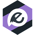 EvolveSMS Theme Paradox Purple icon
