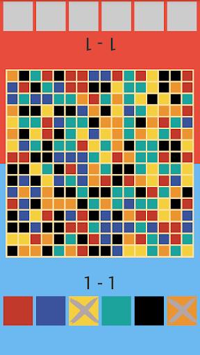 玩免費解謎APP 下載2玩家拼图 - 颜色瘟疫 app不用錢 硬是要APP
