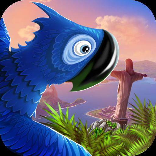 Escape from Rio - Blue Birds LOGO-APP點子