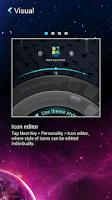 Screenshot of Next Launcher 3D Manuals