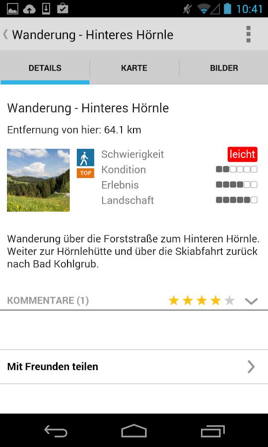 tourenplaner ammergauer alpen android apps auf google play. Black Bedroom Furniture Sets. Home Design Ideas
