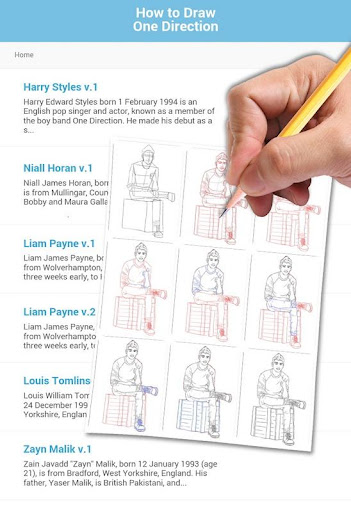 How to Draw One Direction