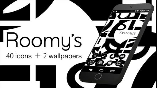 Roomy's-シンプルアイコン オシャレな壁紙アプリ♪