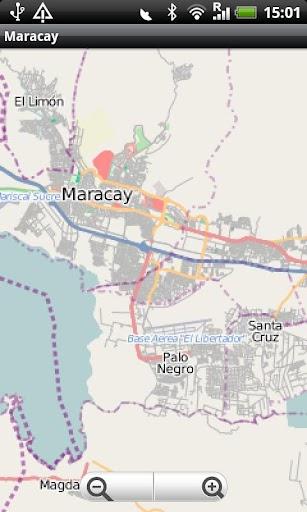 Maracay Street Map