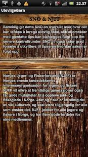 Ulovlige Garn- screenshot thumbnail