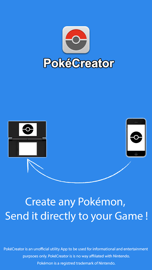 PokéCreator - screenshot