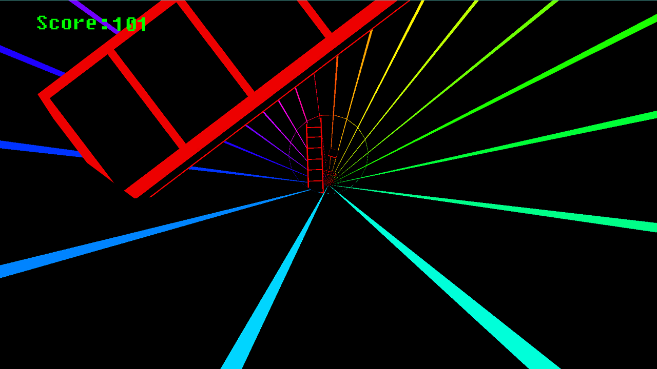 Spectrum Tunnel - screenshot