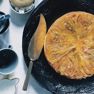 Candied-Fennel-Topped Lemon Cake.