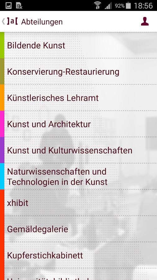 Akademie der bildenden Künste - screenshot
