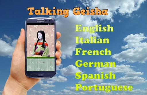 Talking Geisha