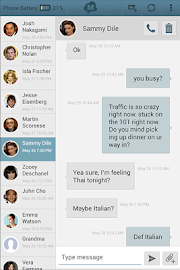 SMS Text Messaging from Tablet Screenshot 9