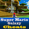 Super Mario Galaxy Cool Cheats logo