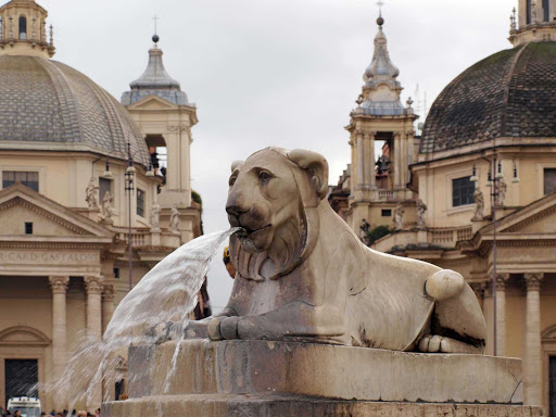 piazza-del-popolo-rome-italy - Piazza del Popolo in Rome.