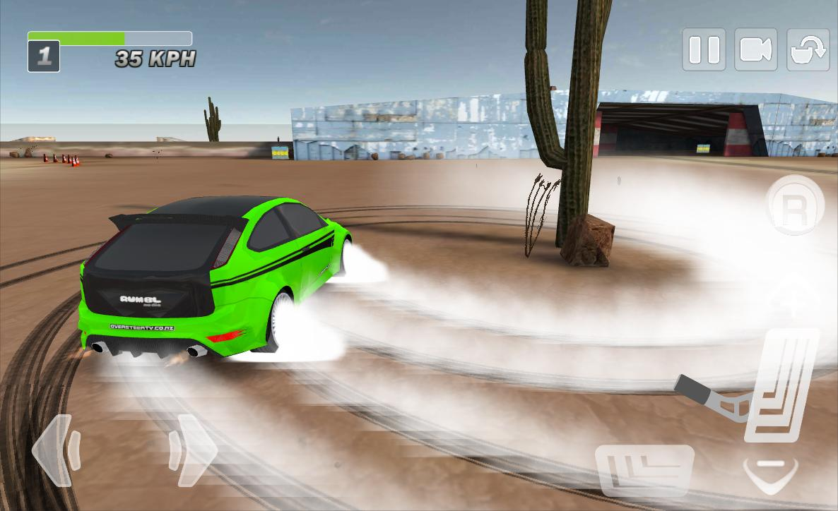 Driftkhana Free Drift Lite- screenshot