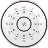 Vatch White Clock Widget 2×2 logo