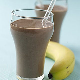 Chocolate-Banana Smoothie.