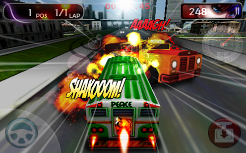 Bus Turbo Racing FREE- screenshot thumbnail