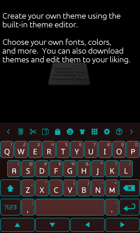 Ultra Keyboard - screenshot