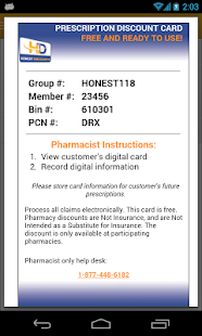 Pharmacy Discounts - screenshot thumbnail