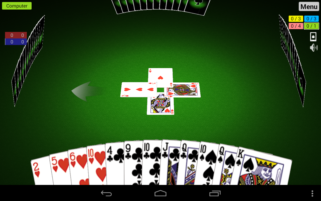 Spades 3D - screenshot