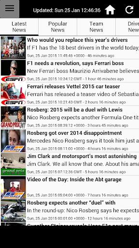 MotorRacing News
