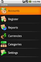 Screenshot of Cashew