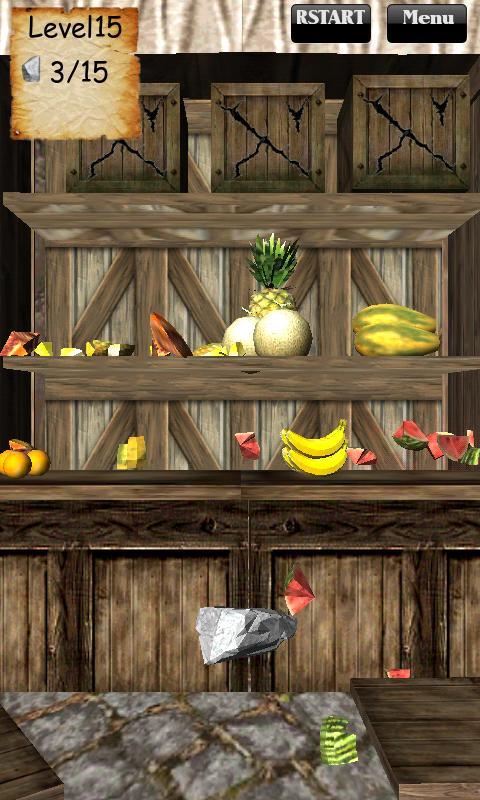 Smash Fruit 3D - screenshot