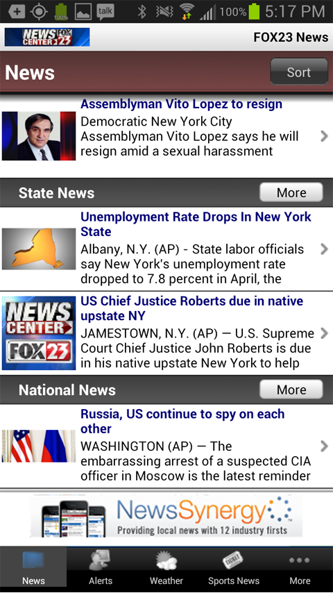 NEWS CENTER on FOX23 - screenshot