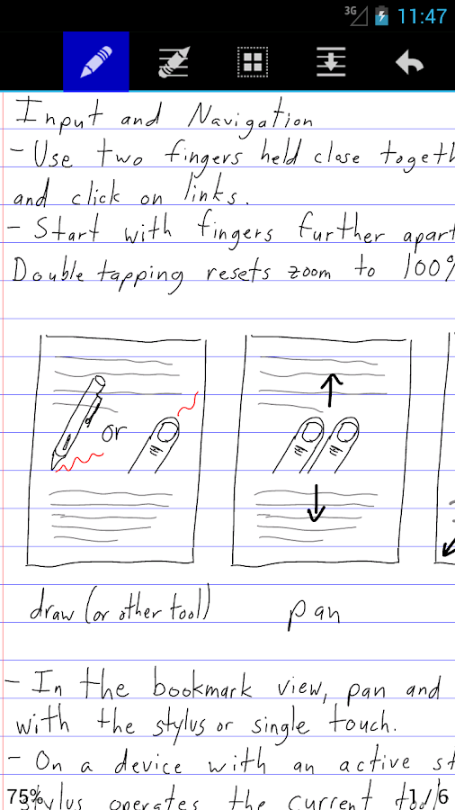 Write - screenshot