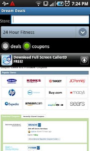 Dream Deals and Coupons screenshot 0