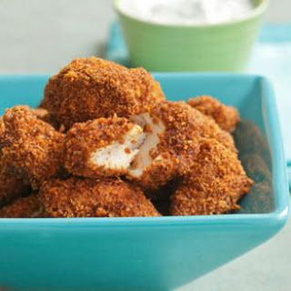 Spicy Pecan Popcorn Chicken
