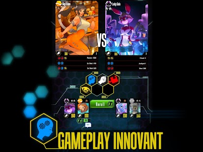 Battle G. Girls – Cards game - screenshot thumbnail