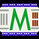 Kyiv metro scheme icon