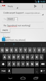 Gmail Canned Responses BETA Screenshot 5