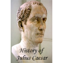 History of Julius Caesar-Book logo