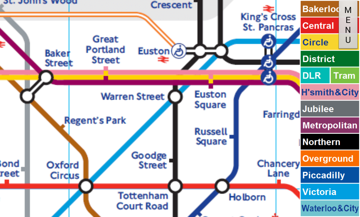 London Tube Map  Android Apps on Google Play