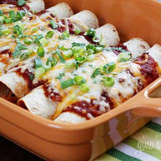 Skinny Chicken Enchilada