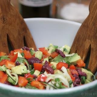 Olive and Veggie Pasta (Gluten Free. Raw Vegan. Paleo.)