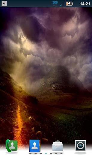 Cloudy Mountain LWP Pro