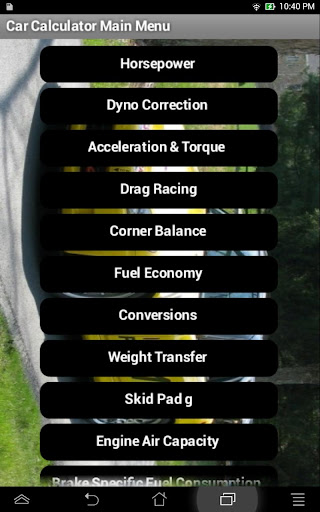Car Calculator
