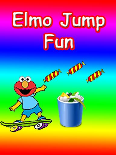 Jumping Fun elmo