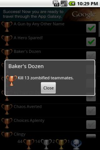 Trophies 4 Resident Evil: ORC- screenshot