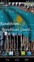 Screenshot of 3D Kazakhstan Flag LWP +