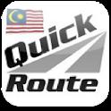 Quick Route Malaysia icon