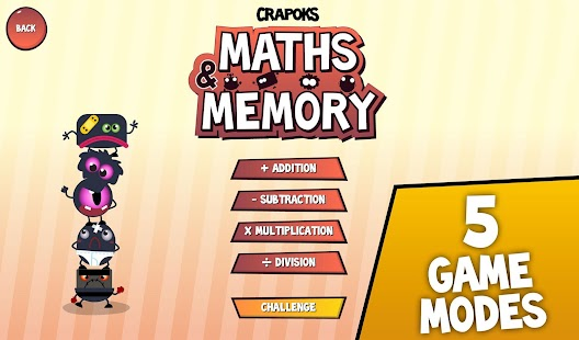Crapoks: Maths Memo